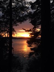Solnedgang Malmøya